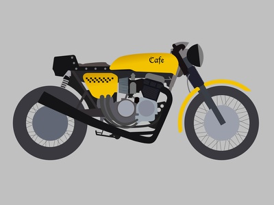 Cafe Bike bike motorcycle