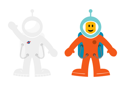 Astro Guy astronaut space man