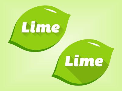 Massive Lime lime long fade