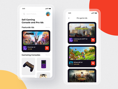 Game Shop App Ui Design. game design game typography app concept mobileappdesign mobile ui ios modern app minimal app home screen ux ui