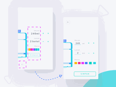 Revisi Order Page revision page order android mobile zalepik uxdesign uidesign interantion design ux uiux ui
