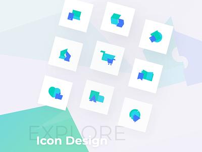 Explore Icon Design Zalepik   Freebie muzli freebie free development webdevelopment shop icondesign icons icon mockup ux web design zalepik website uiux ui modern gradient