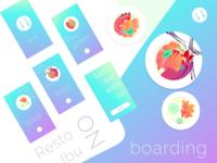 Resto Ibu iOS App | Onboarding