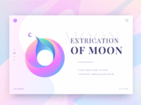 Extraction Of Moon