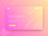 Ui Kit App Landing Page Theplate Mockup   2 Your Landin