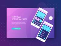 Ui Kit App Landing Page Theplate Mockup  1 Mobile Appsw