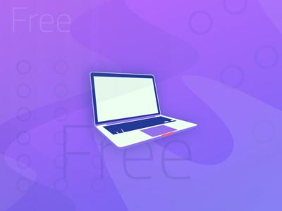 Freebie   Macbook Mockup
