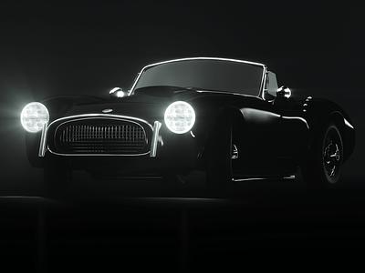 Spider Cobra / Front minimalism art artwork sleek greyscale car design car illustration c4d redshift3d motion graphics spacelaser design 3d 3d design cinema 4d