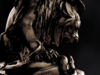 Feirce Nature - Lion vs Serpent
