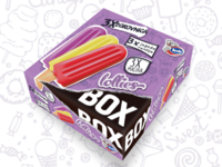 Doodle ice cream multipac design