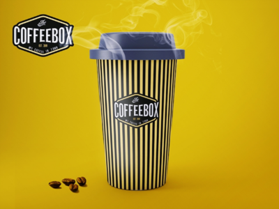 Vintage logo design for coffee shop