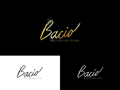 High fashion store logo design