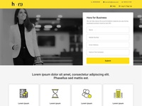 Hora Website UI
