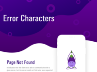 Error Page Characters