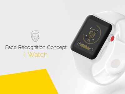 i Watch face recognition concept