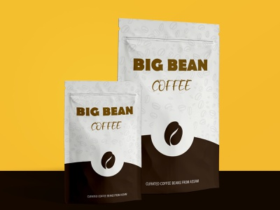 Big Bean Coffee Brand branding design