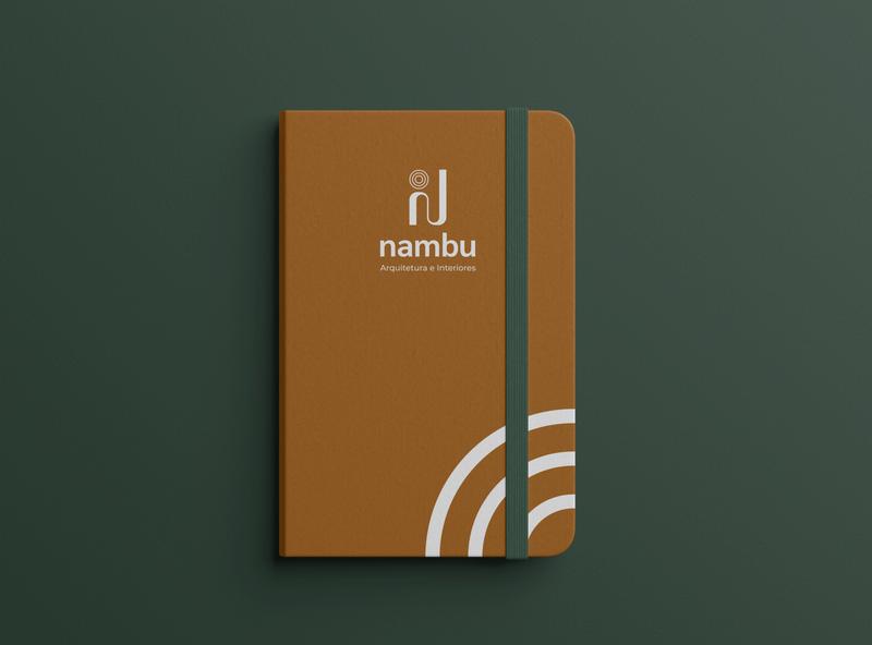 Nambu - Arquitetura e Design branding design marca identidade visual logo brand