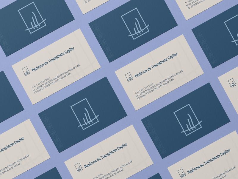 Medicina do Transplante Capilar design branding identidadevisual logo branding design