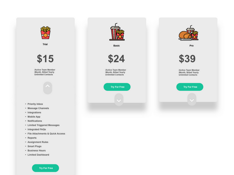 squeeze card fat white by pradeep dribbble