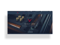 Vault Luxe landing page