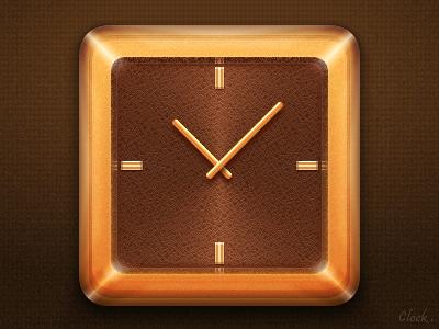 Clock pu watches timekeeper clk clocks timer timepiece clock makemake gold leather watch glass