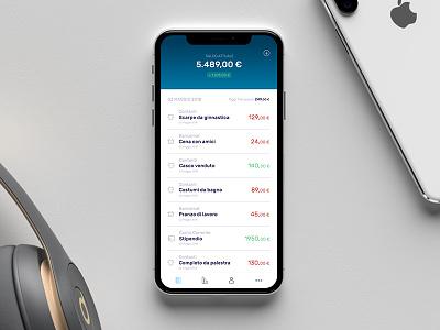 Money Manager ui photoshop sketch manager money design mobile app