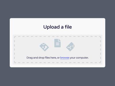 Daily UI #031 - File Upload