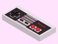 Isometric NES Controller