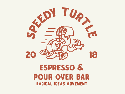 RADICAL IDEAS coffee graphic design coffee design artist typography drawing illustrator logo tee design coffee illustration turtle illustratio illustration
