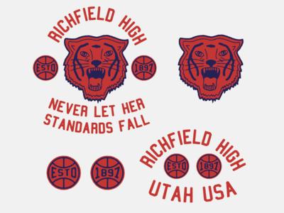 RICHFIELD HIGH BASKETBALL TEAM