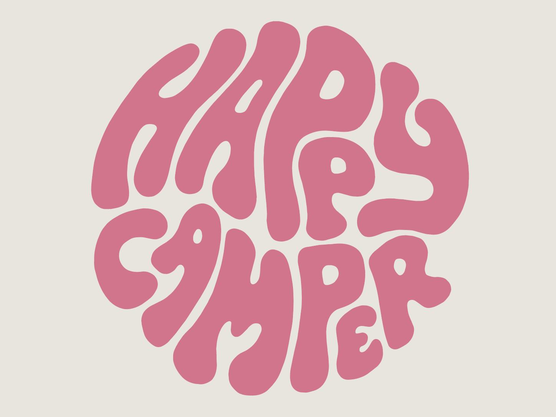 CAMP BRAND GOODS clothing brand vector art designer branding typography artist drawing illustrator graphic design design illustration