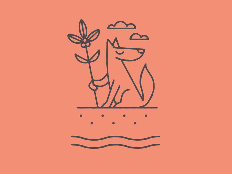 FOUNDATION designer identity icon illustrator artist drawing branding vector design illustration