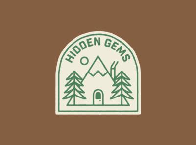 Hidden Gems art type identity fun artist drawing graphic design illustrator design illustration