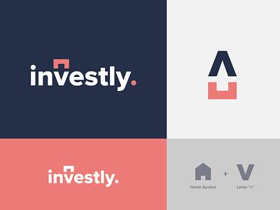 Investly - Brand identity branddesign naming branding logodesign logo brandidentity identity brand