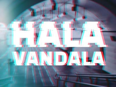 HALA VANDALA poster design
