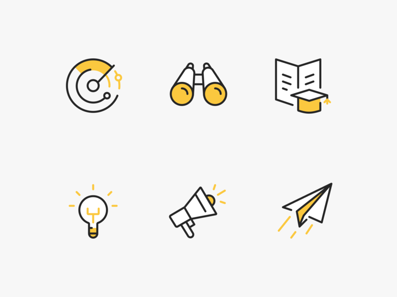 Cronycle icons vector icon branding web design ux ui minimal product design flat