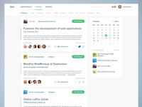 Meetups Page