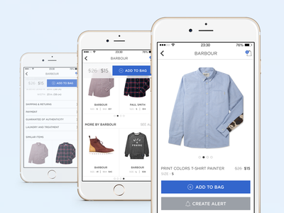 Product Page iPhone6 App