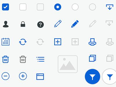 Icon Sprite Sheet icons ui