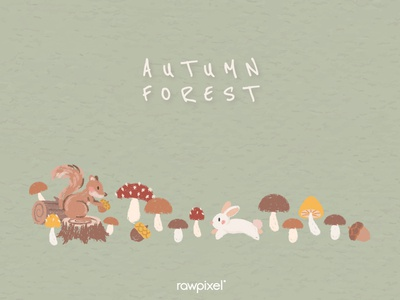 Autumn Foliage : Background