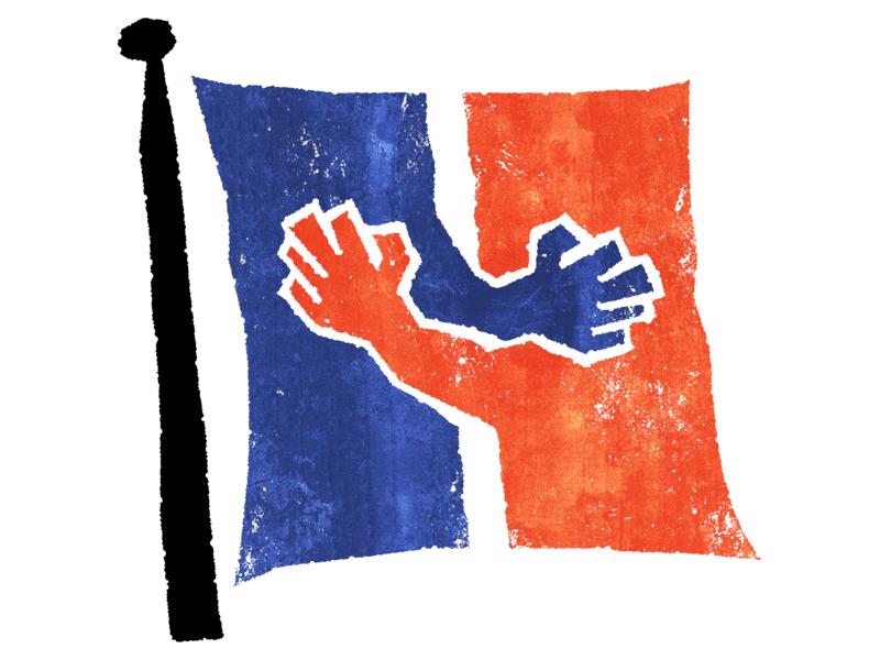 #paris terrorism paris peace flag