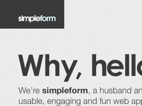 Simpleform Website