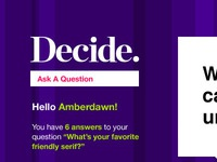 Decide App