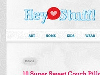 Hey Stuff! website