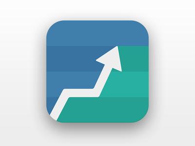 App Icon app icon flat up arrow ios icon