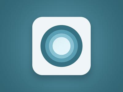 Cycl App Icon cycl app icon circles flat ios