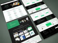Creative Knock UI Design for Branding