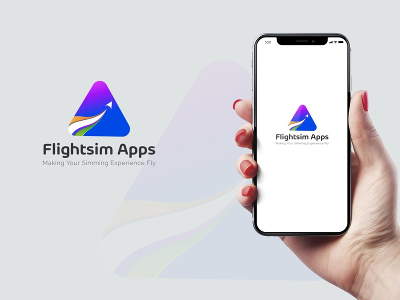Flightsim Apps Logo Design