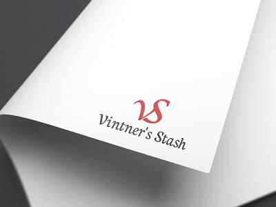 Vintners Stash Logo design latter logo best t-shirt t-shirt design icon 2019 vector best logo branding typography illustration best design graphicsdesign illutrator logodesign design logo vs logo