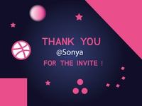 Thank For Dribbble Invite
